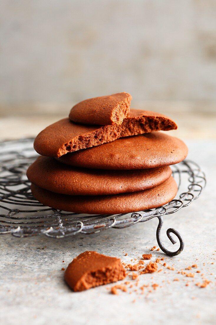 10-minute hazelnut and nougat cream cookies