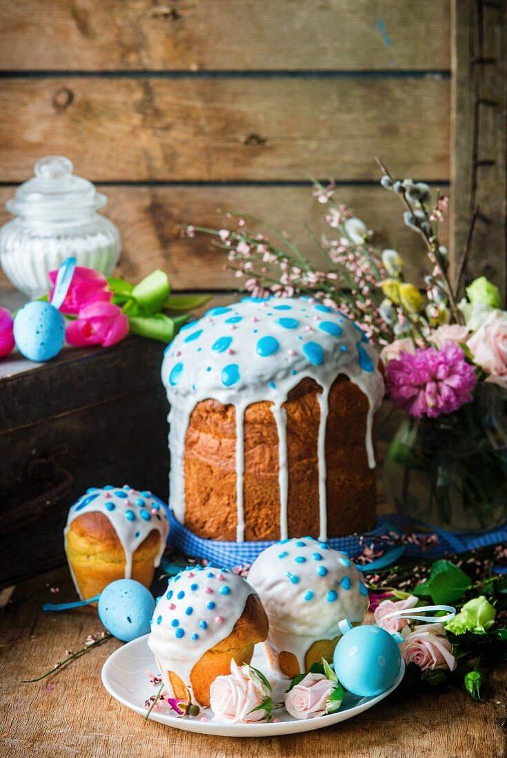 Kulitsch (traditional Easter bread from Russia)