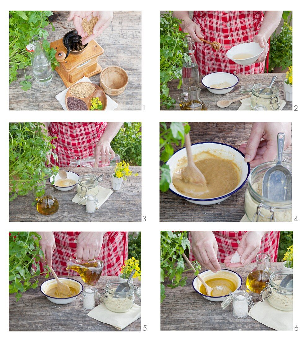 How to make honey and mustard ointment for a healing massage