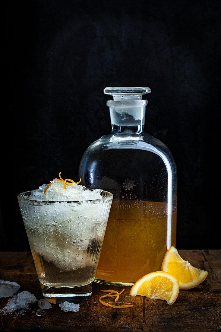 Limoncello and Soda