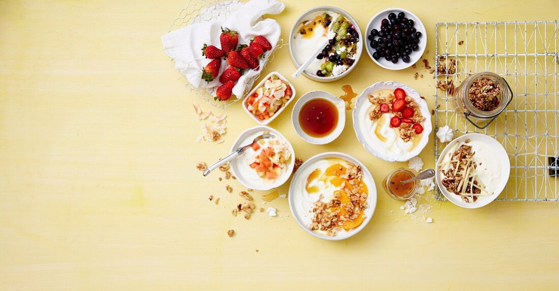 10 Ways with ... Yoghurt Toppers - Boost your calcium intake in the most delicious way.