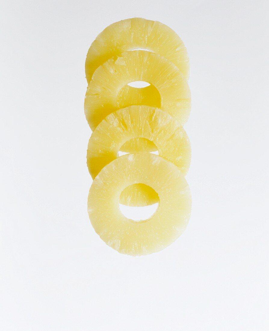 Four Pineapple Rings