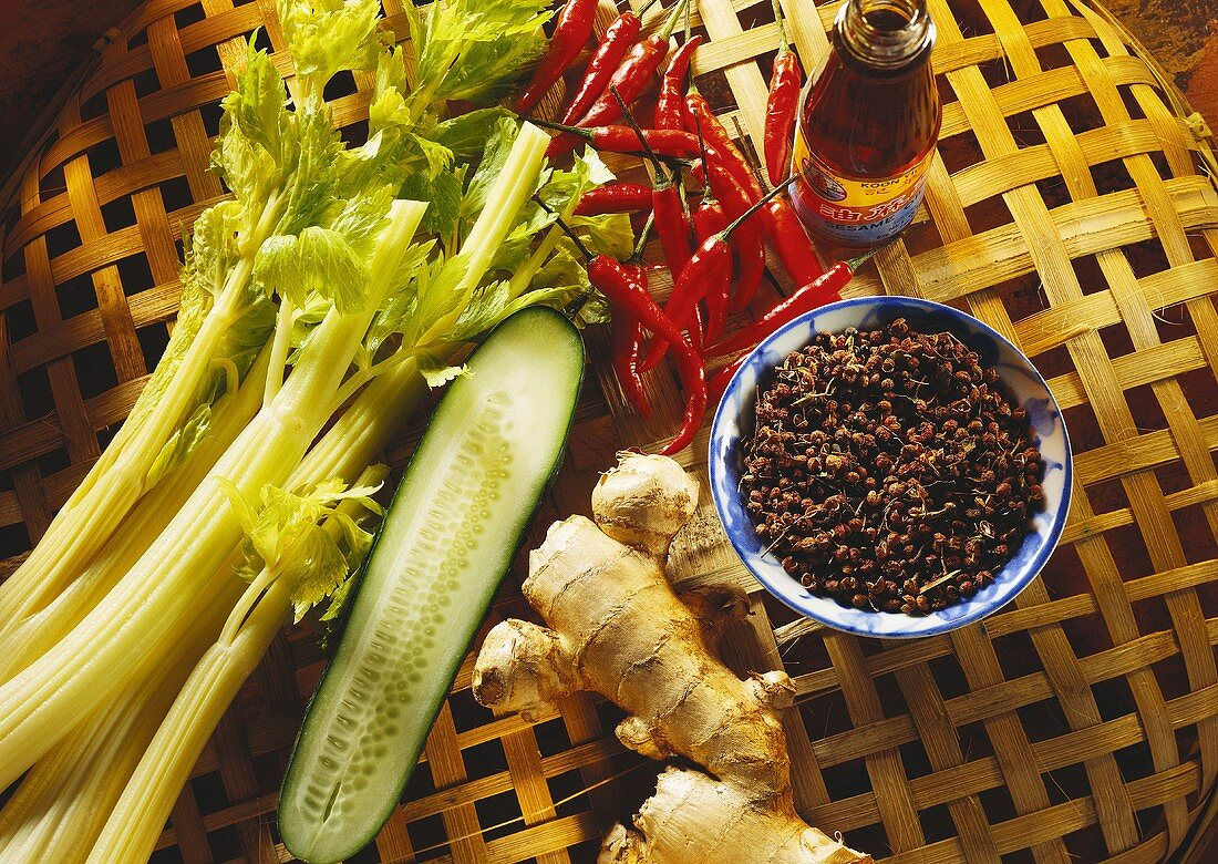 Assorted Chinese Ingredients