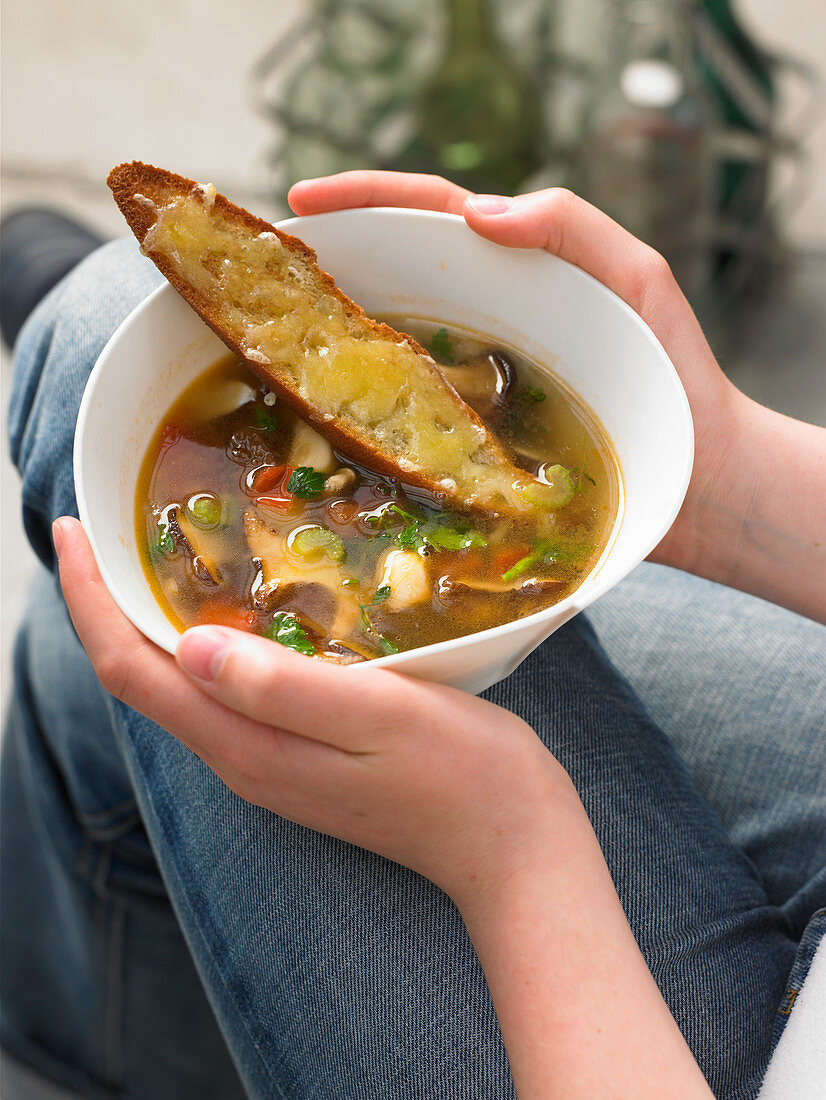 Aquacotta (Tuscan country soup)