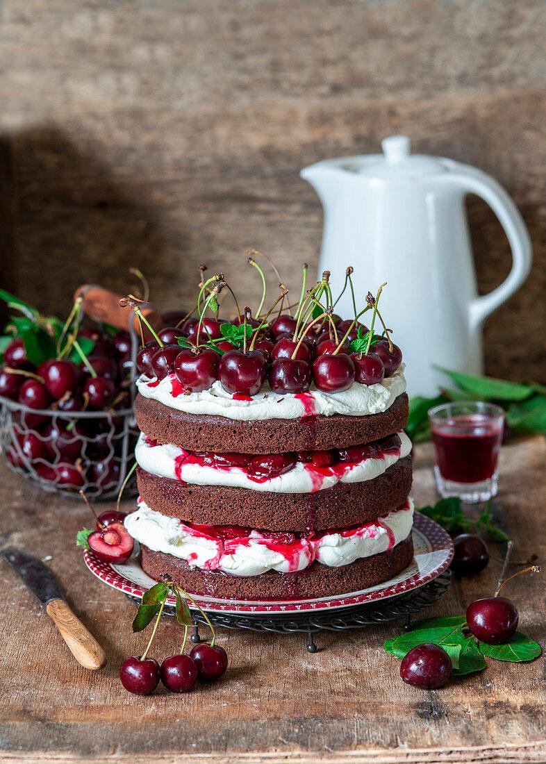 Cherry_chocolate_cake