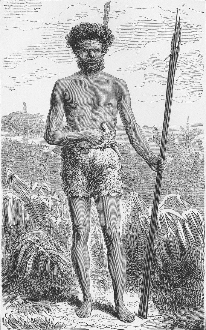 Native of Australia, c1885, (1890)