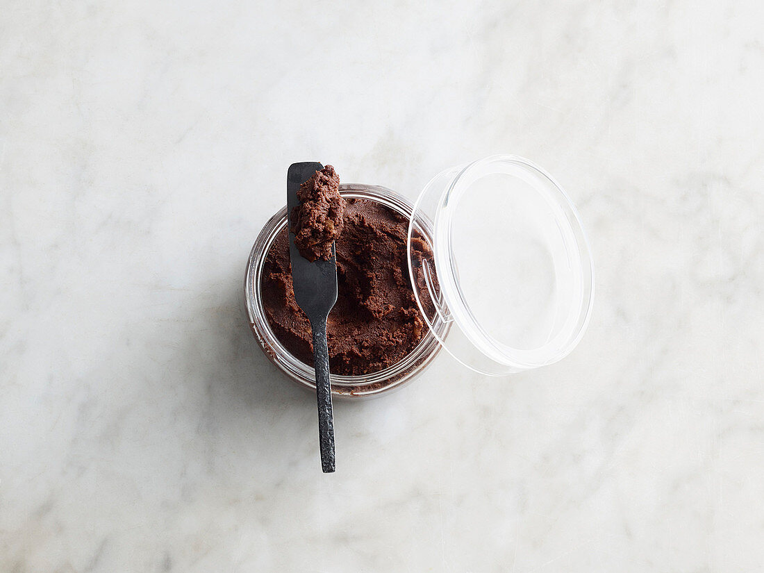 Apple and chocolate cream (low carb)
