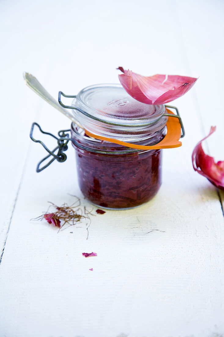 Red onion confit