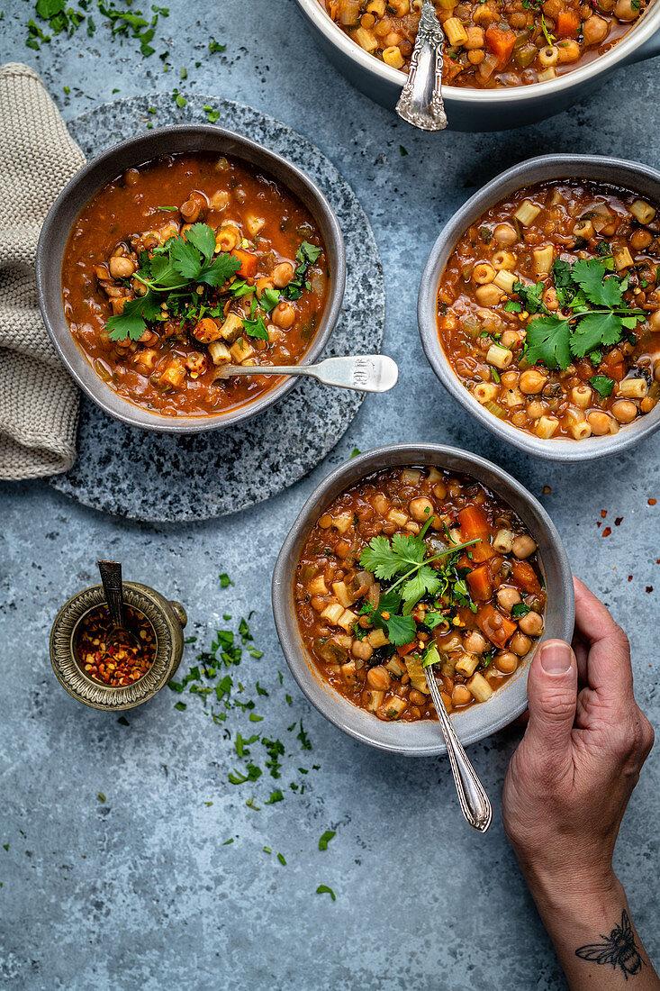 Harira (Lent soup, Morocco)