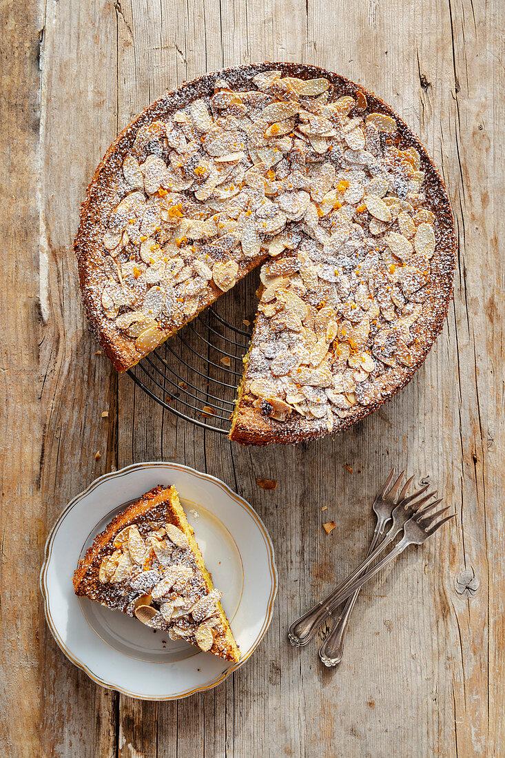 Flourless orange and almond cake (Spain)