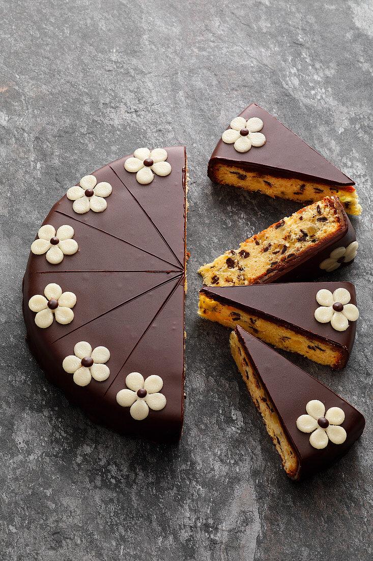 Spanish vanilla cake