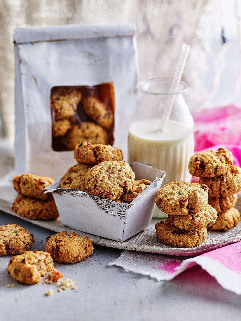 Apricot Museli Cookies