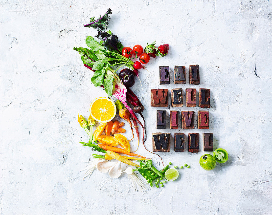 Eat Well Live Well - Cover