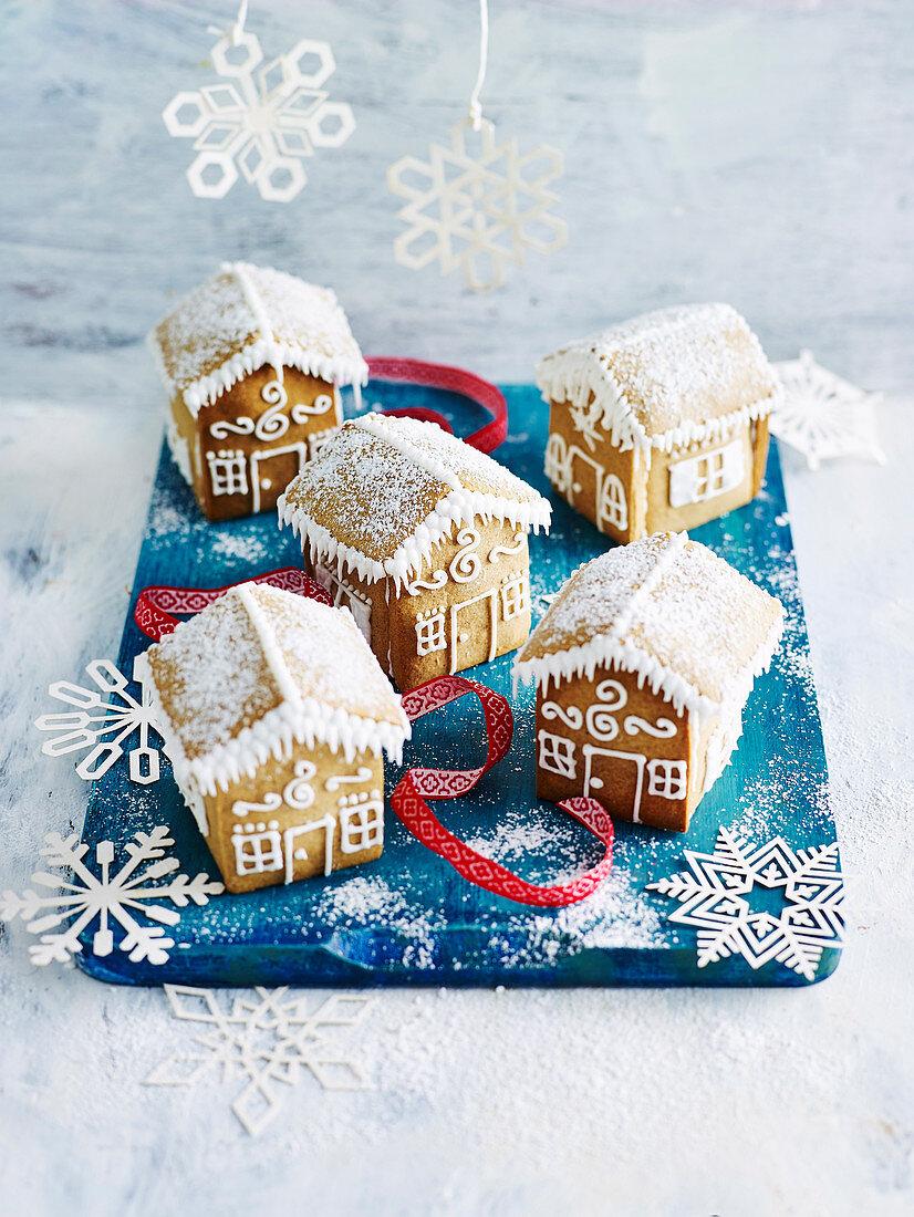 Mini Gingerbread Houses (Gluten-Free )