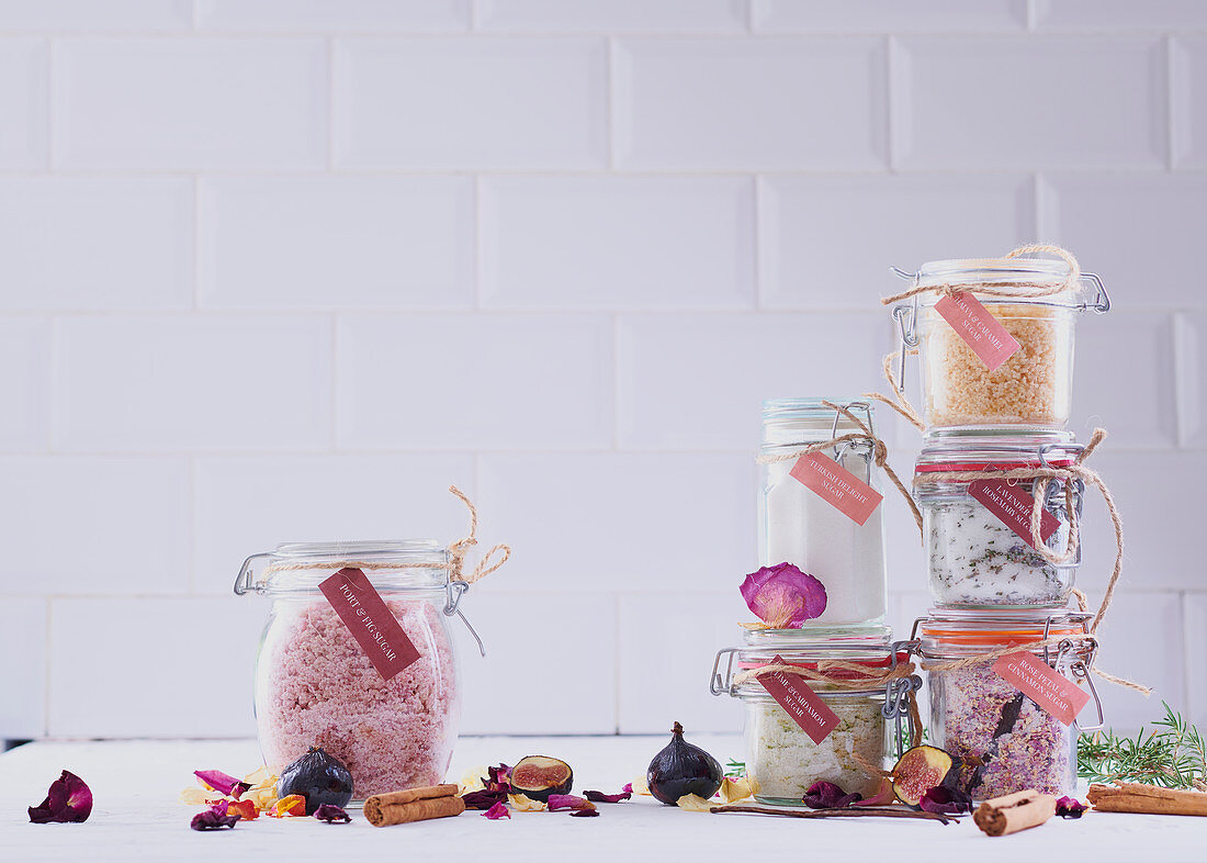 Flavoured sugars