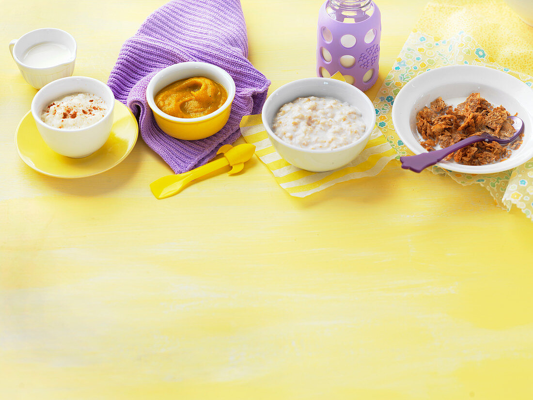 Breakfast for babies for babies and toddlers (6-9 Months)