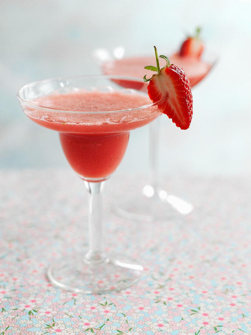 Sweet chili strawberry daiquiri