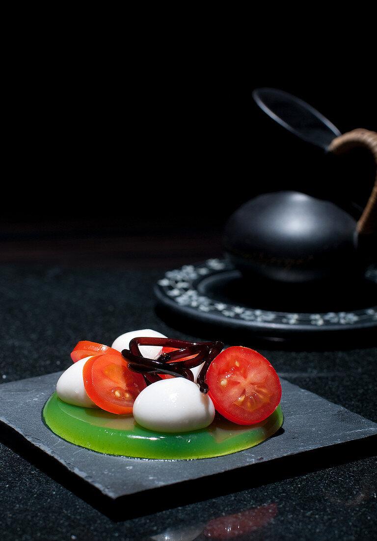 Caprese (molecular gastronomy)