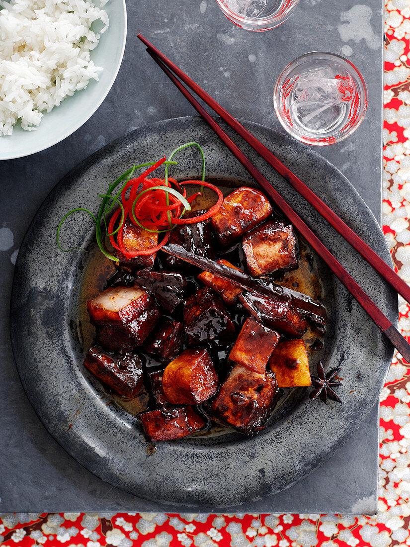 Chairman Mao's roast pork belly (China)