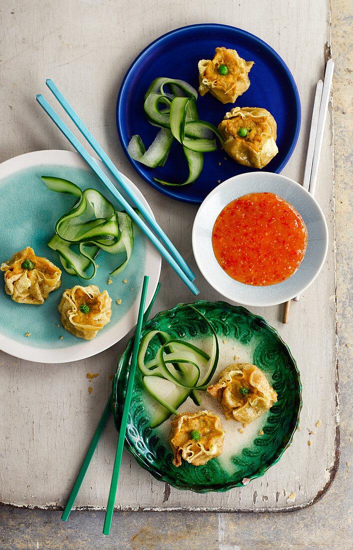Crispy Superfood Siu Mai