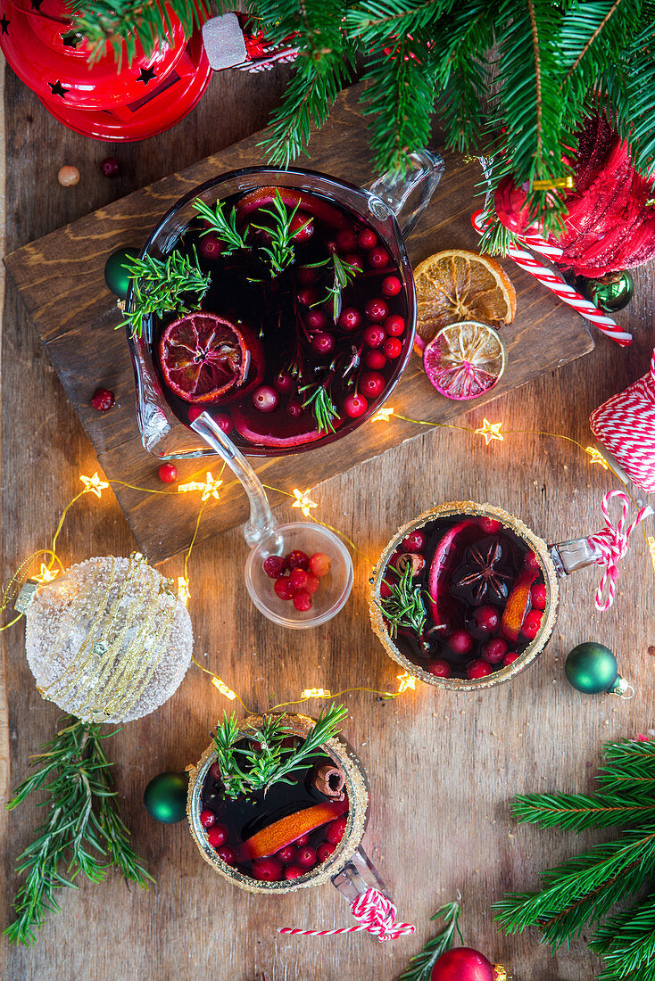 Mulled wine from above
