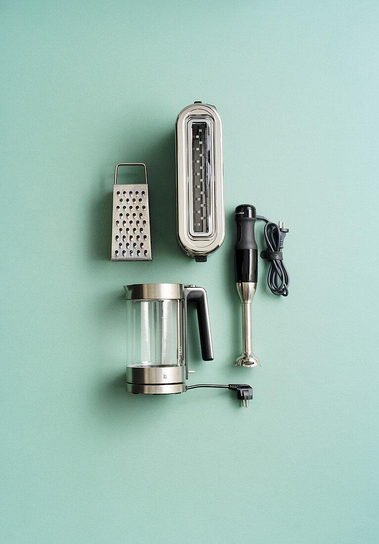 Speedy kitchen utensils