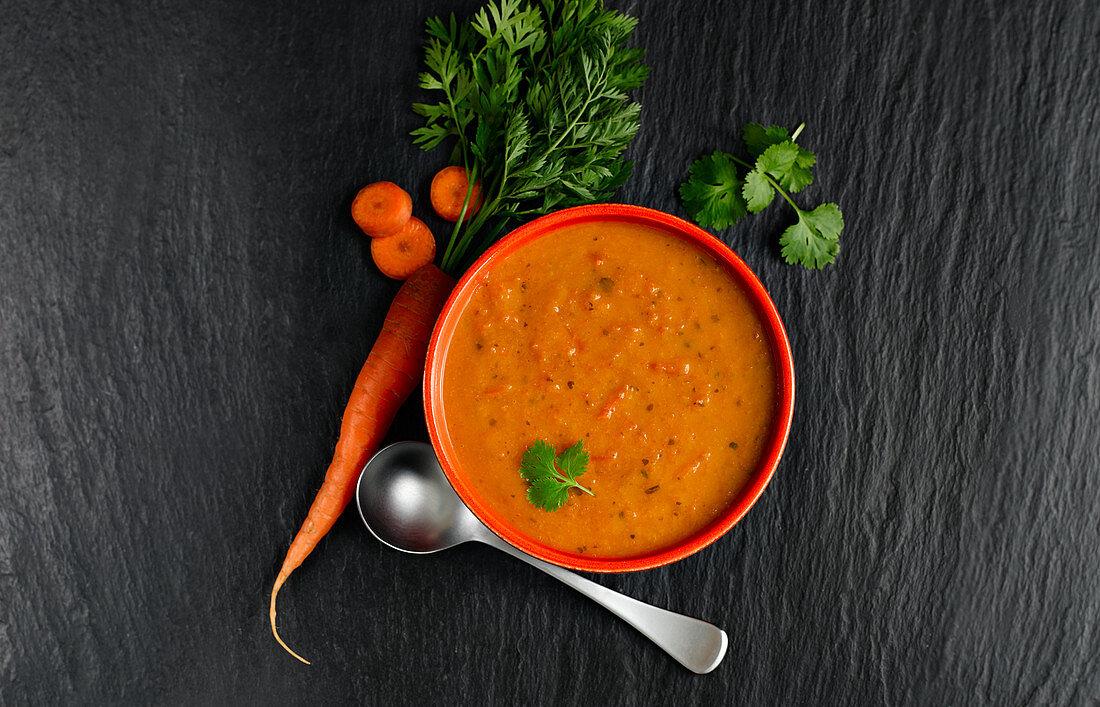 Carrot Corriander Soup