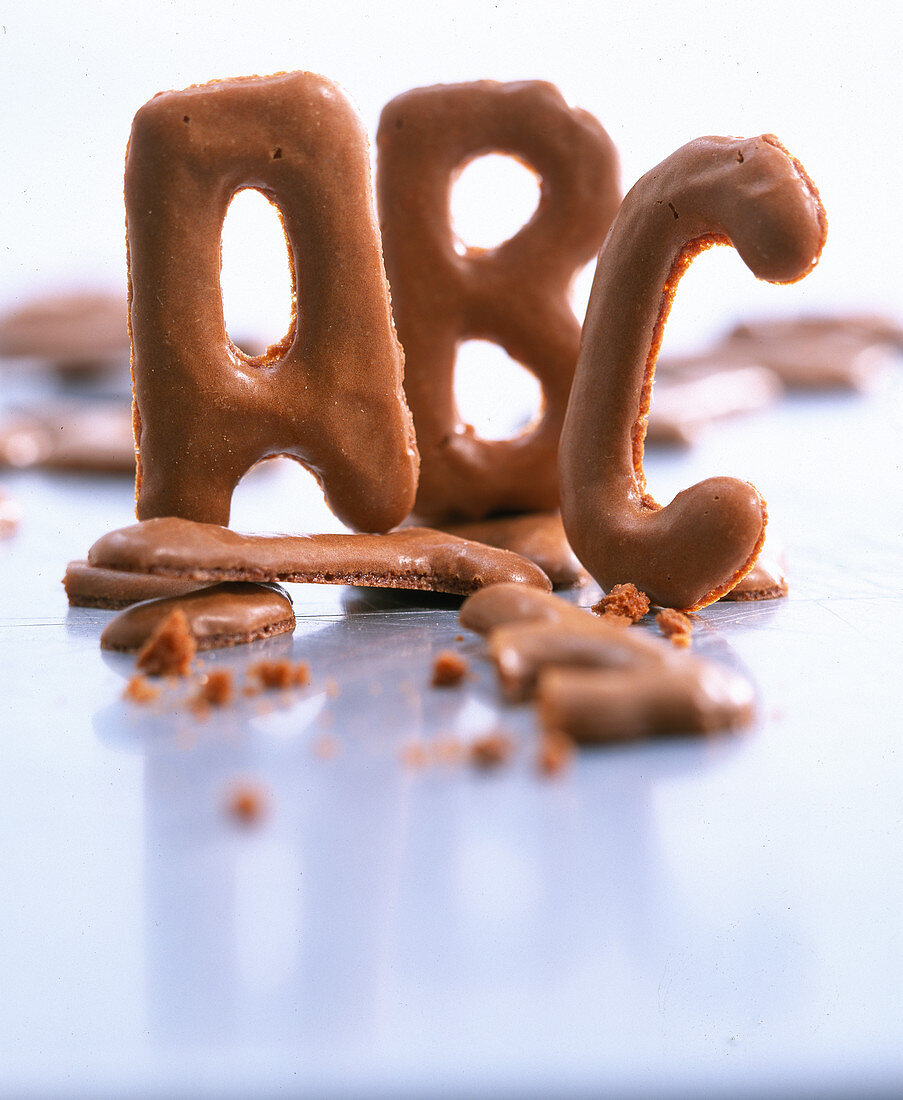Letter biscuits (Russian biscuits)