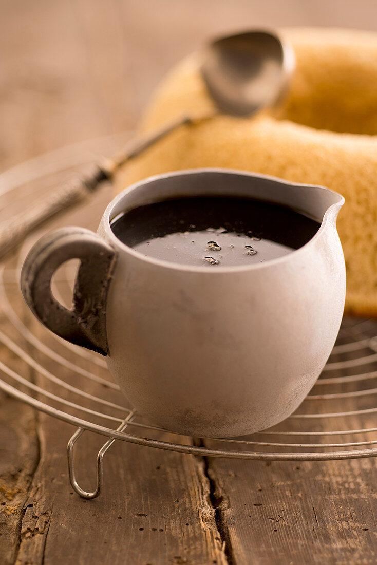 Coffee vanilla syrup