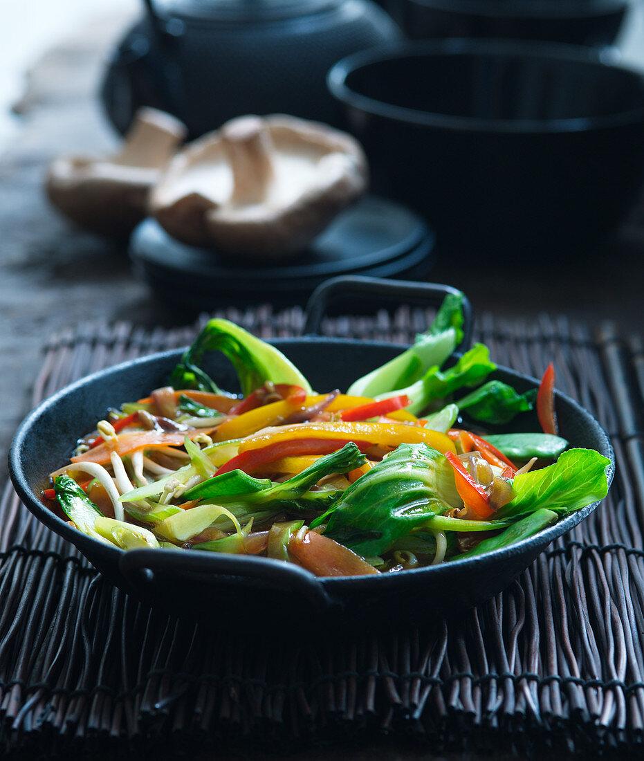 Vegetable Chop Suey (Asia)