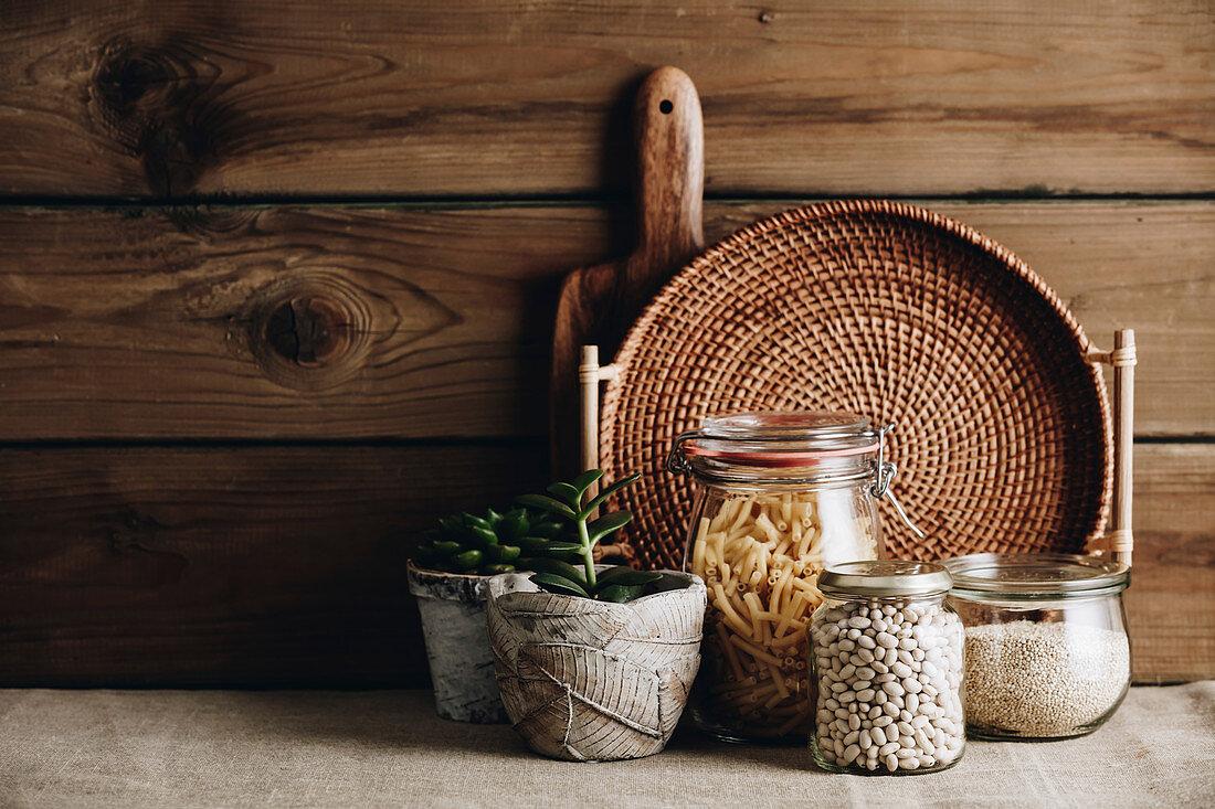 Eco-friendly kitchen concept