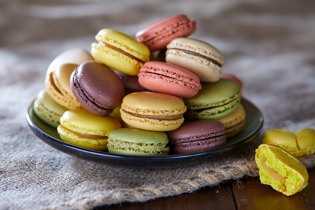 Different macarons