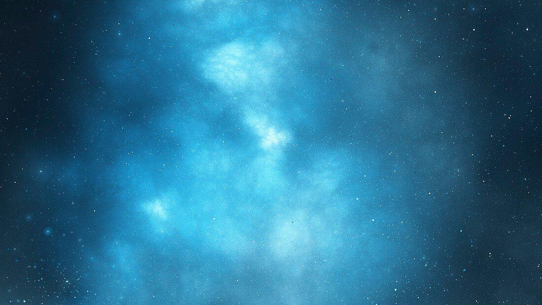 Starry Night Sky Abstract Illustration Bild Kaufen 13198214 Science Photo Library