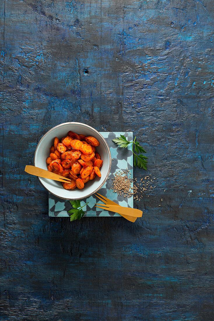 Caraway carrots