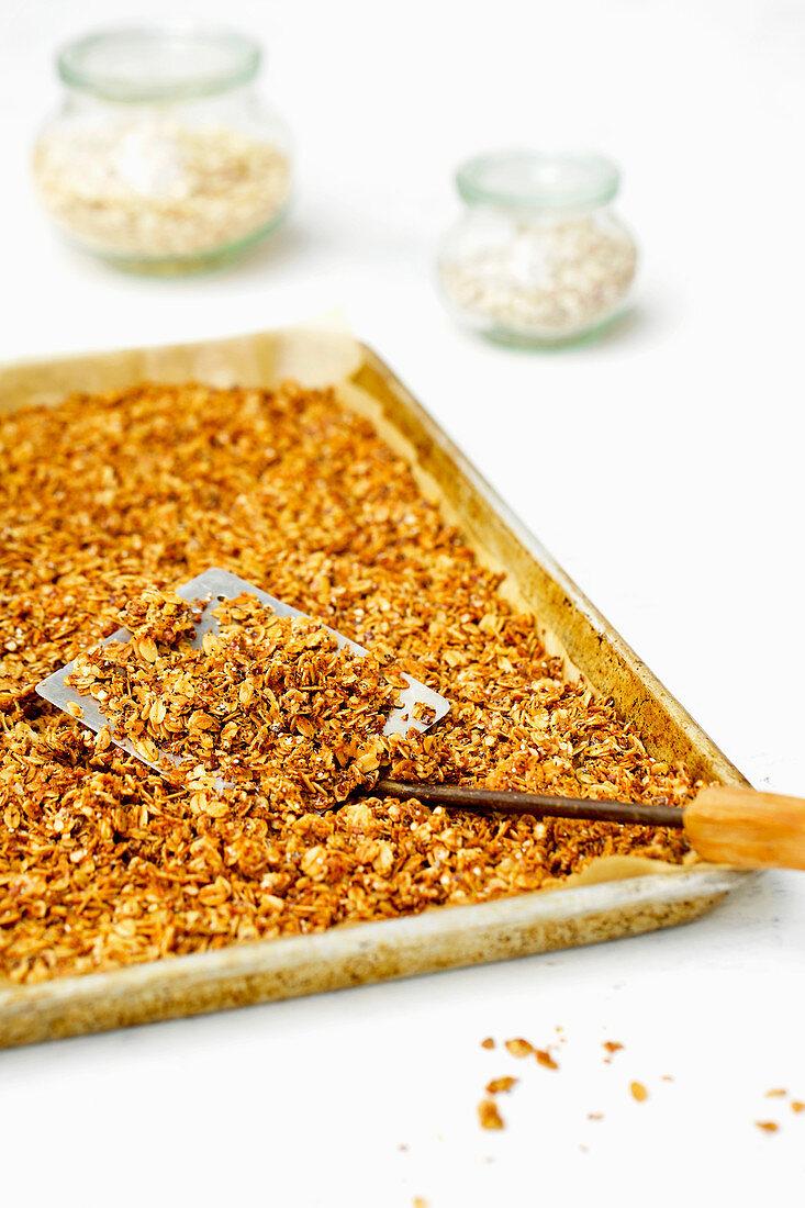 Oat Quinoa Flake Granola