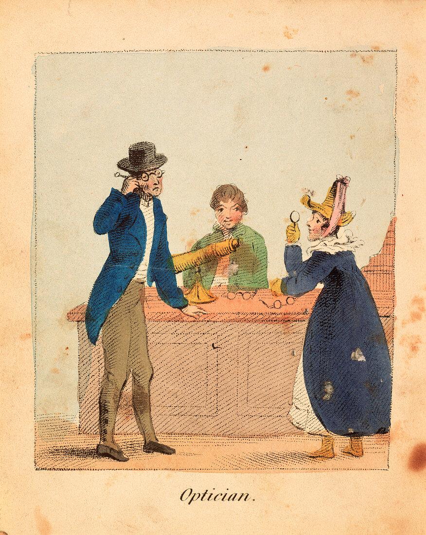Optician', 1818