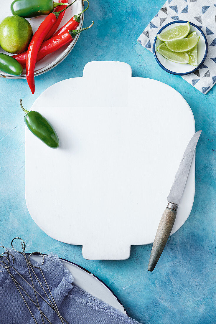Capsicum, Chicken, Chopping Board, Dinner, Knife
