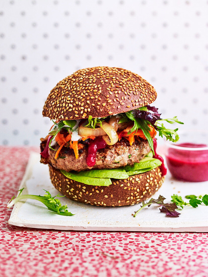 The Super Beef Burger