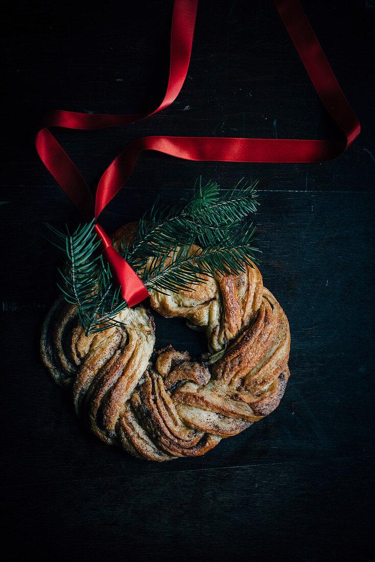 Saffron Cinnamon Wreath