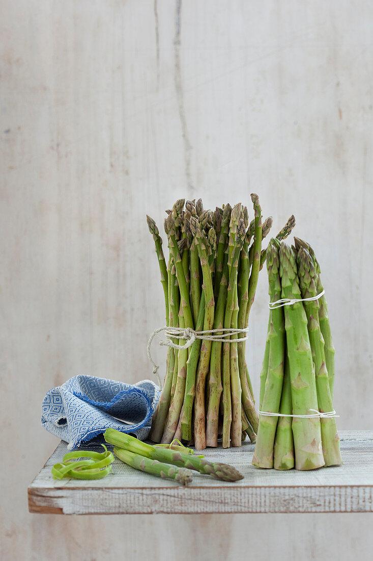 Green asparagus varieties