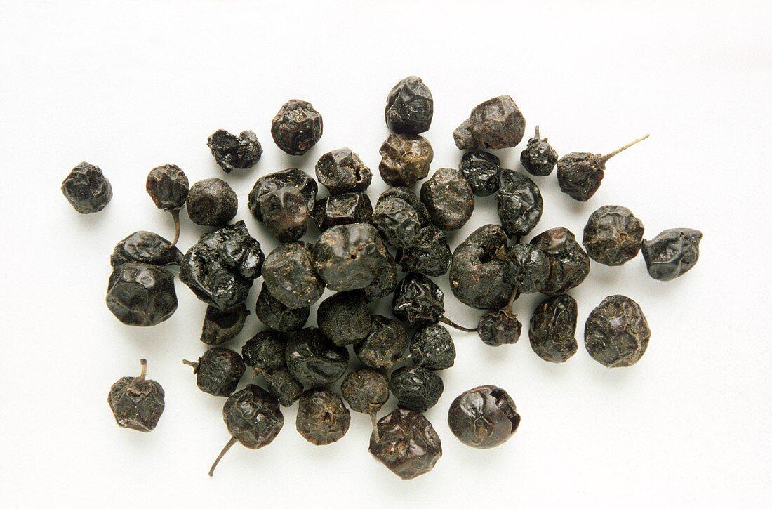 Kreuzdornbeeren (Früchte des Faulbaumes, Abführmittel)