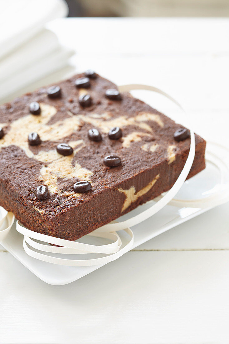 Marbled chocolate brownies