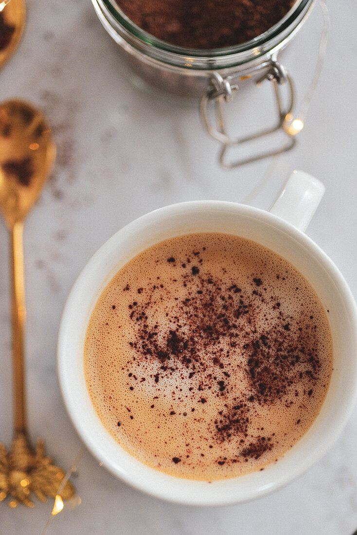 Coffee froth