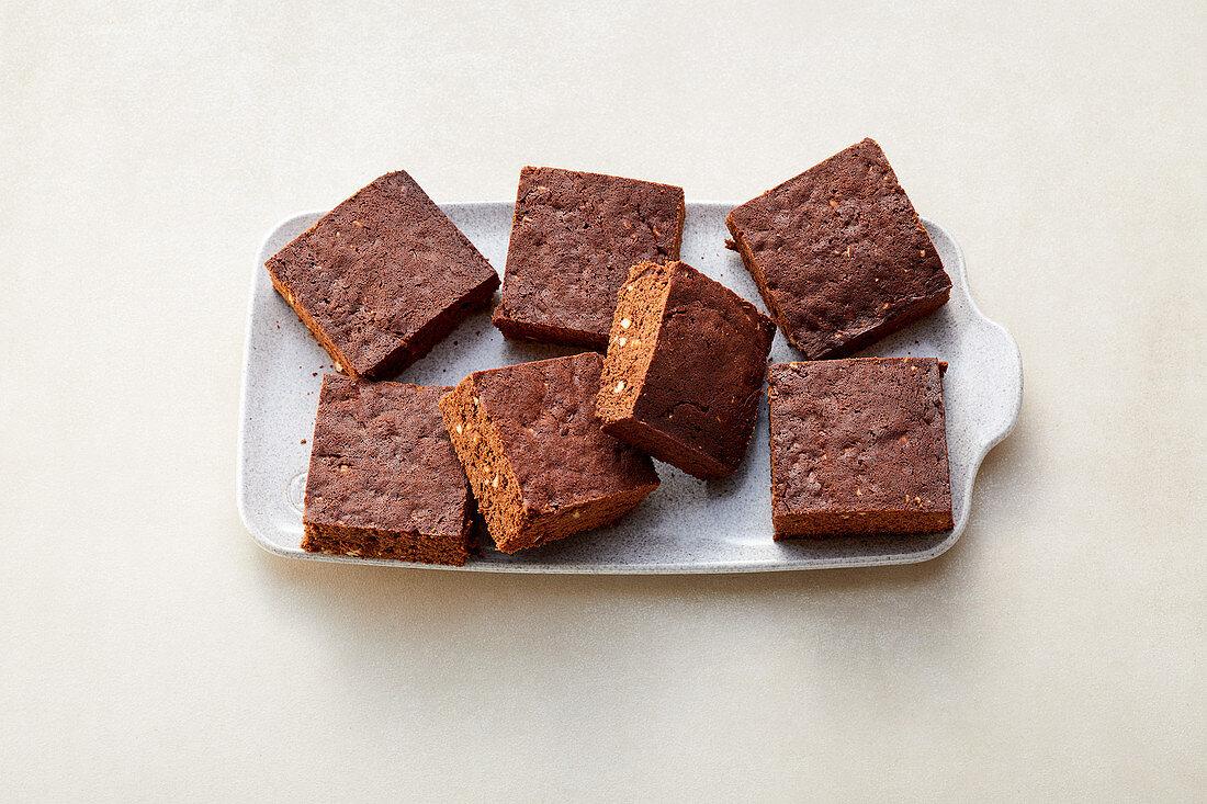 Almond brownies (sugar-free)
