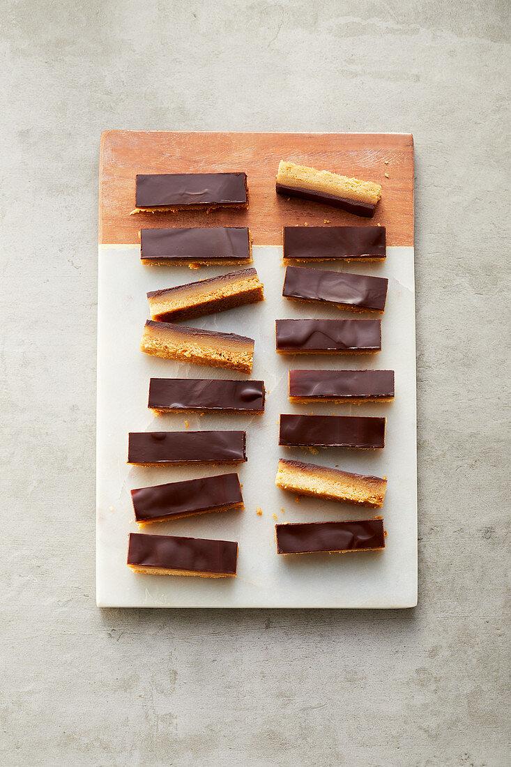 Peanut and almond bars (sugar-free)