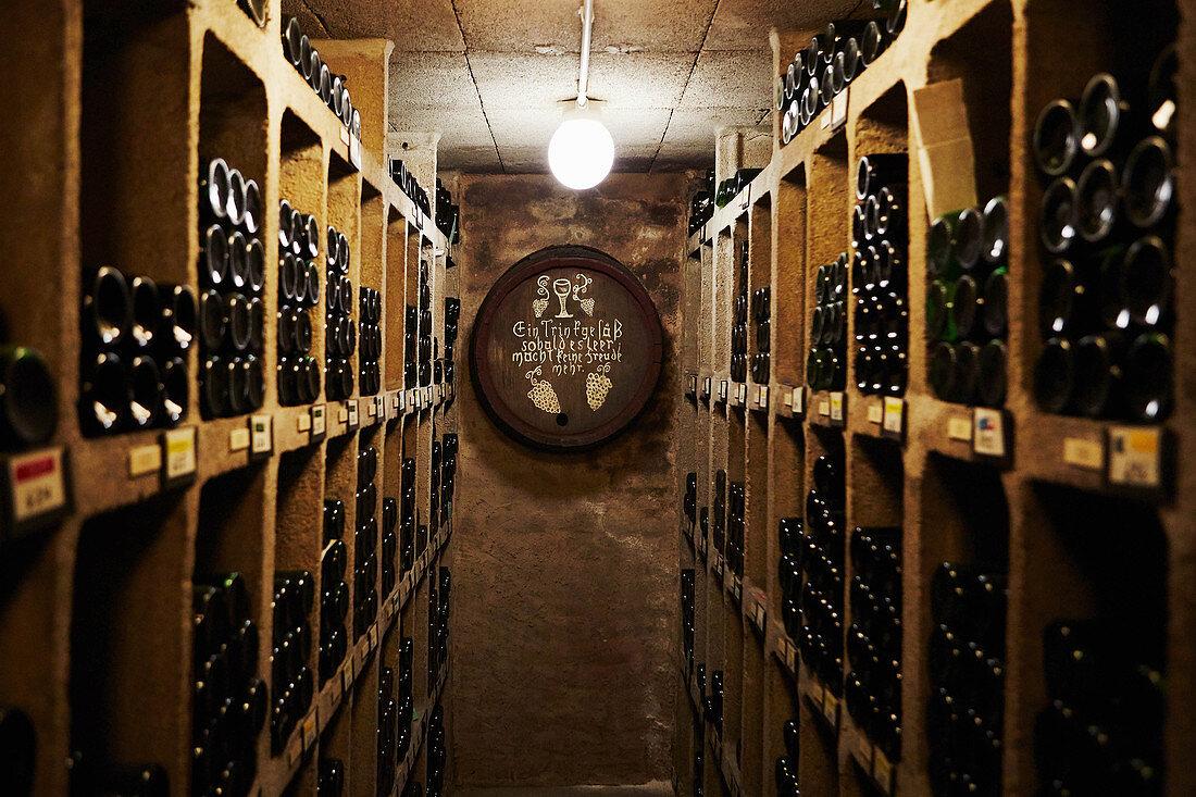 Shelves of wine Monika Christmann, Germany