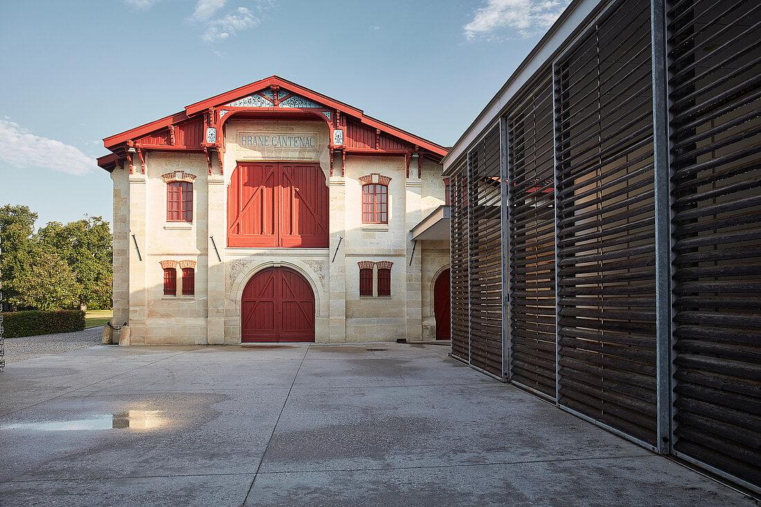 Main building, Chateau Brane-Cantenac, Margaux-Cantenac, Bordeaux, France