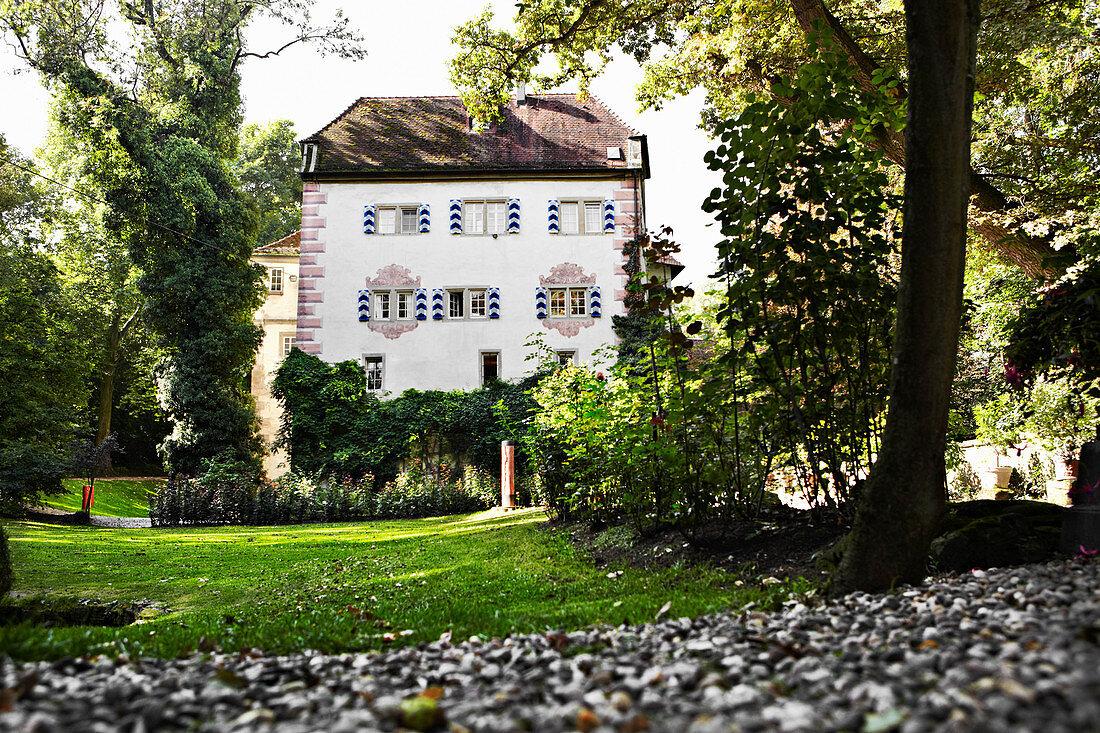 Castle, Graf Adelmann vineyard, Württemberg, Germany