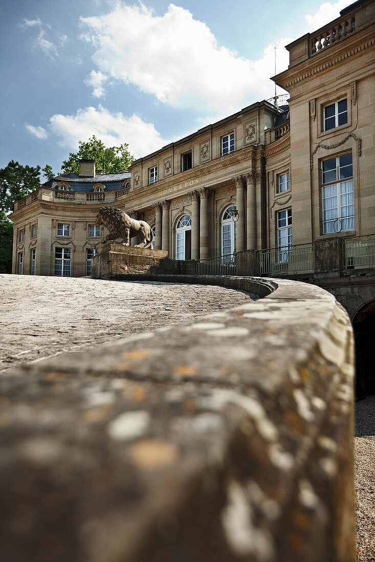 Monrepos Lakeside Palace, Herzog von Württemberg vineyard, Germany