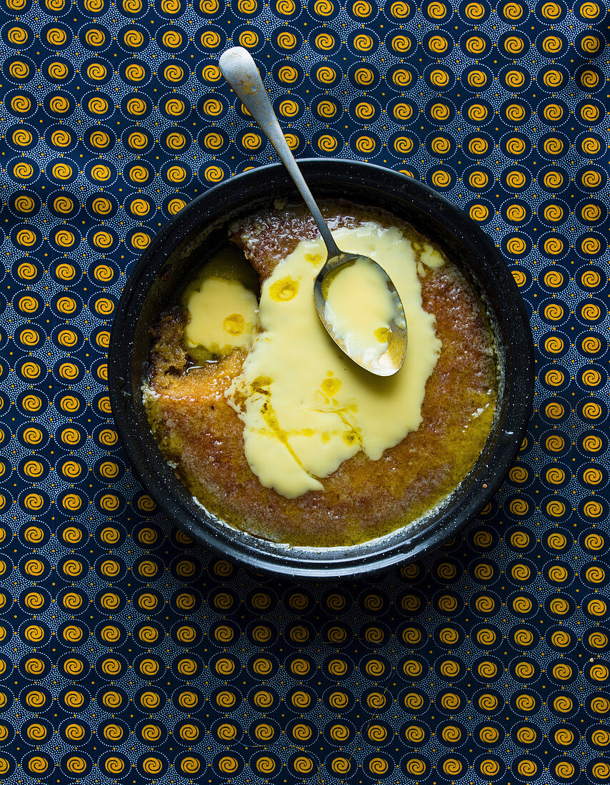 South-African Malva Pudding and Custard